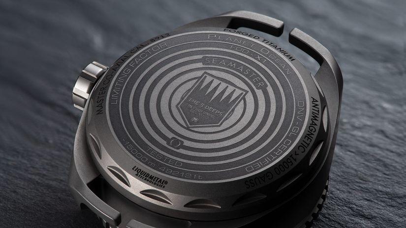 Часы Omega Seamaster Planet Ocean Ultra Deep Professional