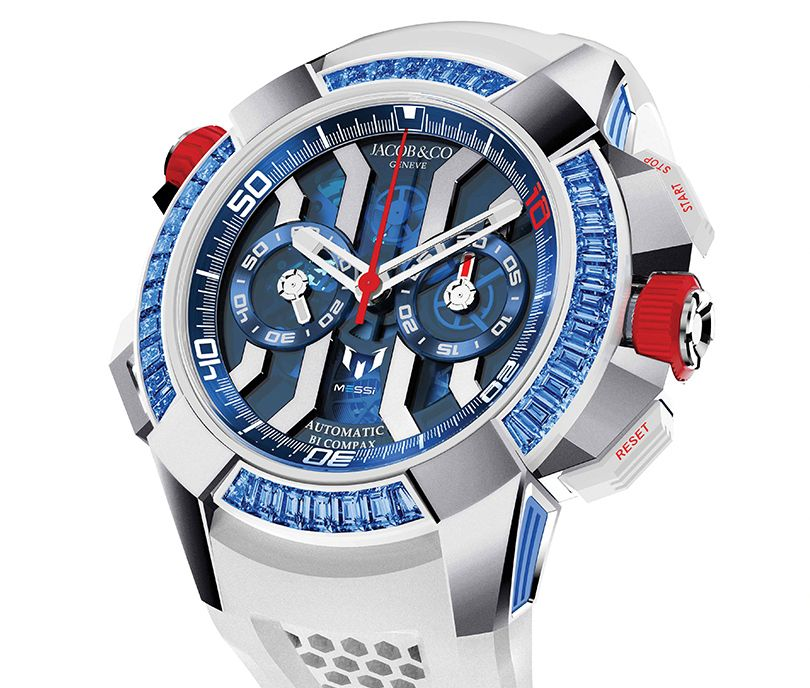 Часы Jacob & Co. Epic X Chrono Messi Only Watch Special Edition