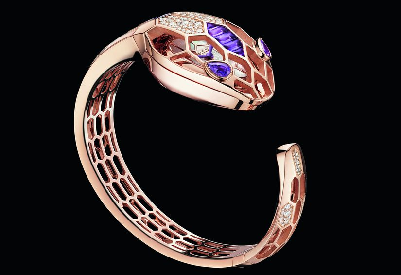Часы Bvlgari Serpenti Misteriosi Bangle