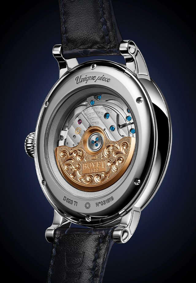 Механизм часов BOVET 1822 Recital 23 Hope