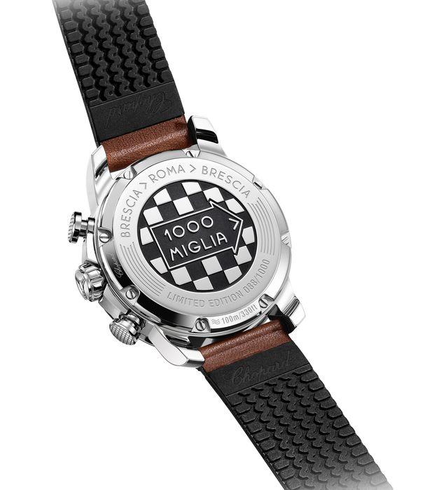 Часы Chopard Mille Miglia 2019 Race Edition. Задняя крышка