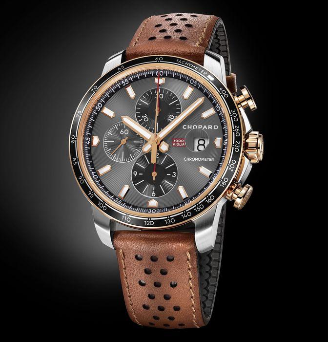Часы Chopard Mille Miglia 2019 Race Edition из стали и золота