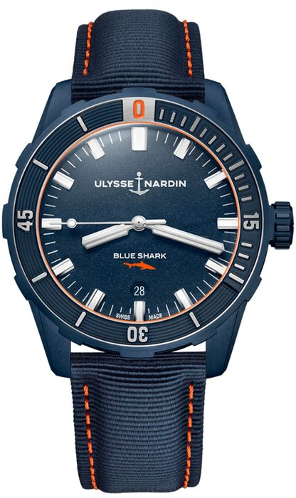 Часы Ulysse Nardin Diver 42 Blue Shark