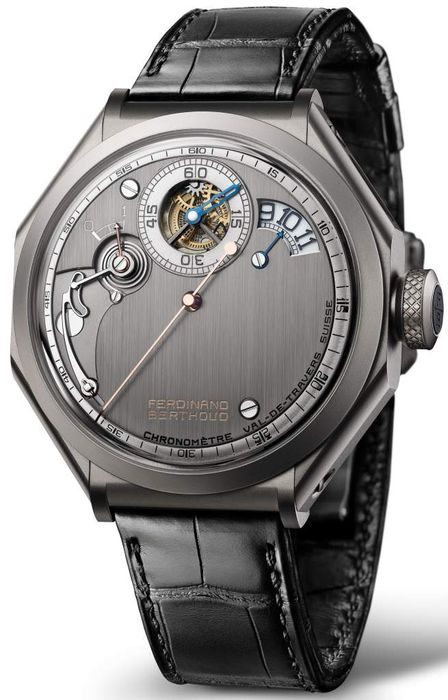 Часы Chronometrie Ferdinand Berthoud Carburised steel regulator