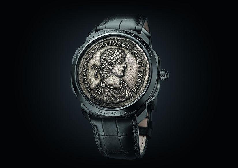 Часы Bvlgari Octo Roma Monete