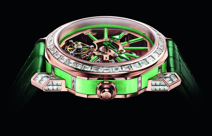 Часы Bvlgari Octo Roma Tourbillon Sapphire Skeleton