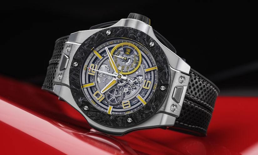 Часы Hublot_Big_Bang_Scuderia_Ferrari_90th_Anniversary