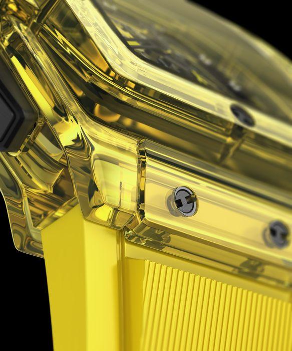Часы Hublot Spirit of Big Bang Yellow Sapphire
