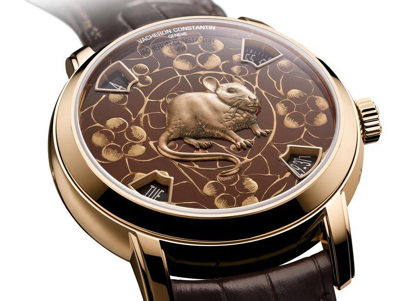 Vacheron Constantin выпускает часы к году Крысы