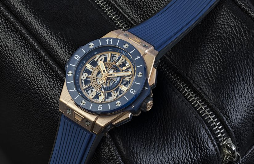 Часы Hublot Big Bang Unico GMT King Gold