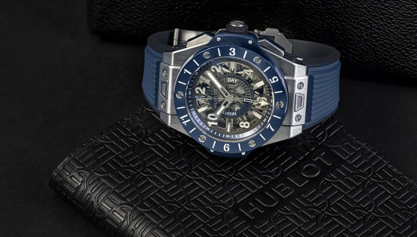 Часы Hublot Big Bang Unico GMT Titanium