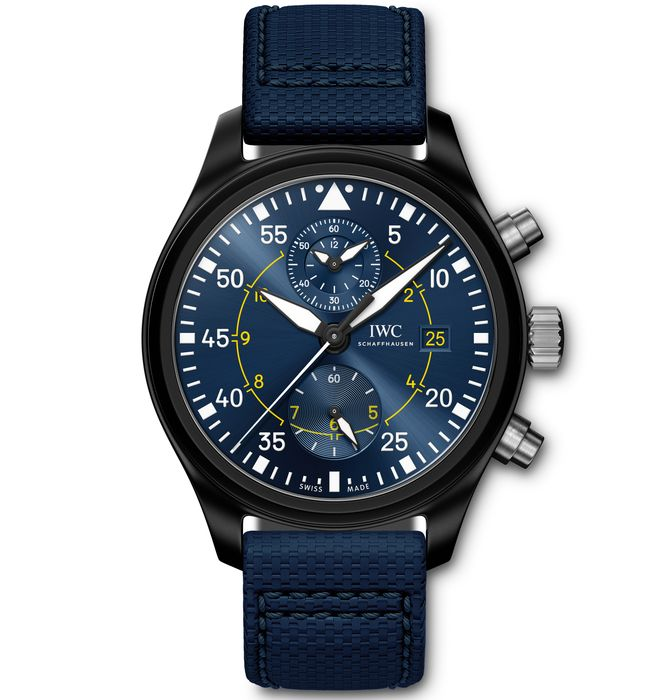 Часы IWC PILOTS WATCH CHRONOGRAPH EDITION BLUE ANGELS