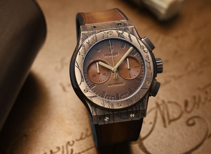 Часы Hublot Classic Fusion Chrongraph Berluti
