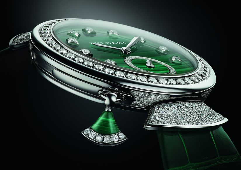 Часы Bvlgari Divas Dream Minute Repeater Malachite