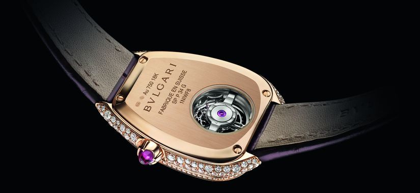 Часы Serpenti Seduttori Tourbillon