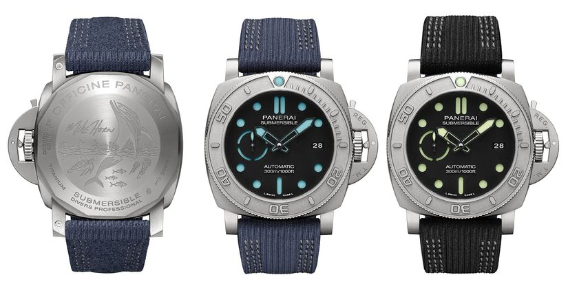 Часы Panerai Submersible Mike Horn Edition 47mm