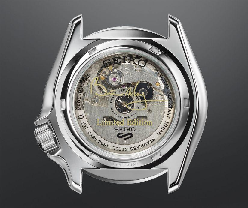 Часы Seiko 5 Sports Brian May Limited Edition SRPE83K1