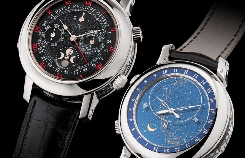 Часы Patek Philippe Sky Moon Tourbillon Ref. 5002G-010