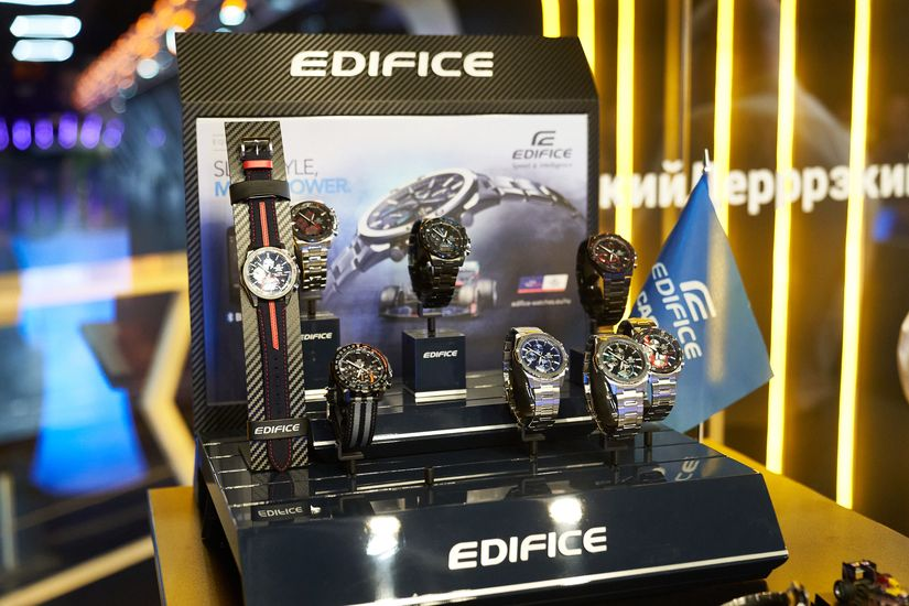 Презентация Casio Edifice