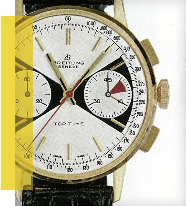 Часы Breitling Top Time Ref.2003 из 1960-х