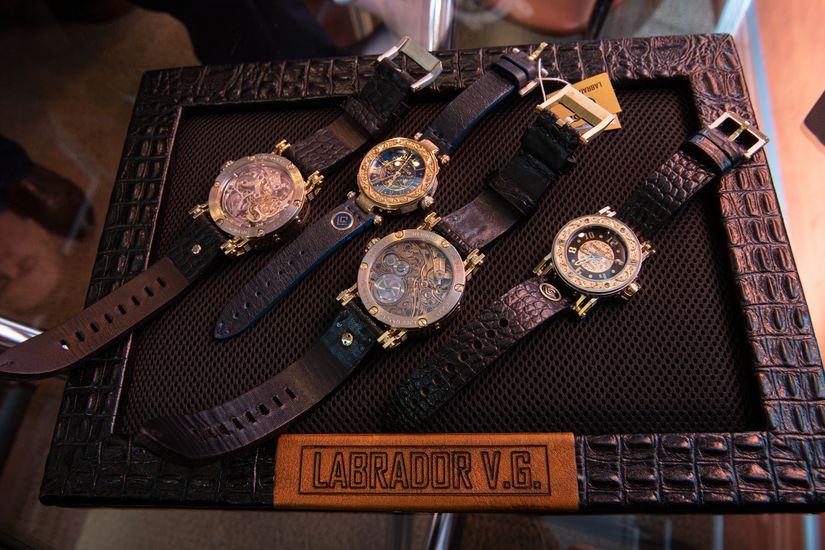 Часы Labrador на Moscow Watch Expo