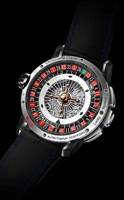 Часы Christophe Claret Poker