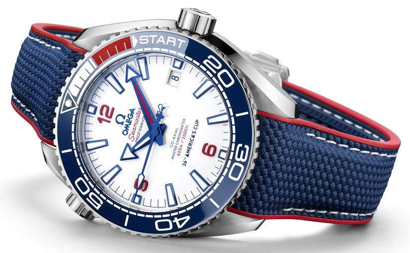 Часы Omega Seamaster Planet Ocean 36th America's Cup Limited Edition