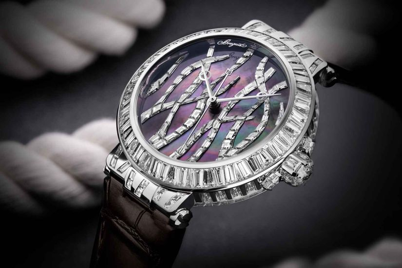 Часы Breguet Marine Haute Joaillerie Poseidonia