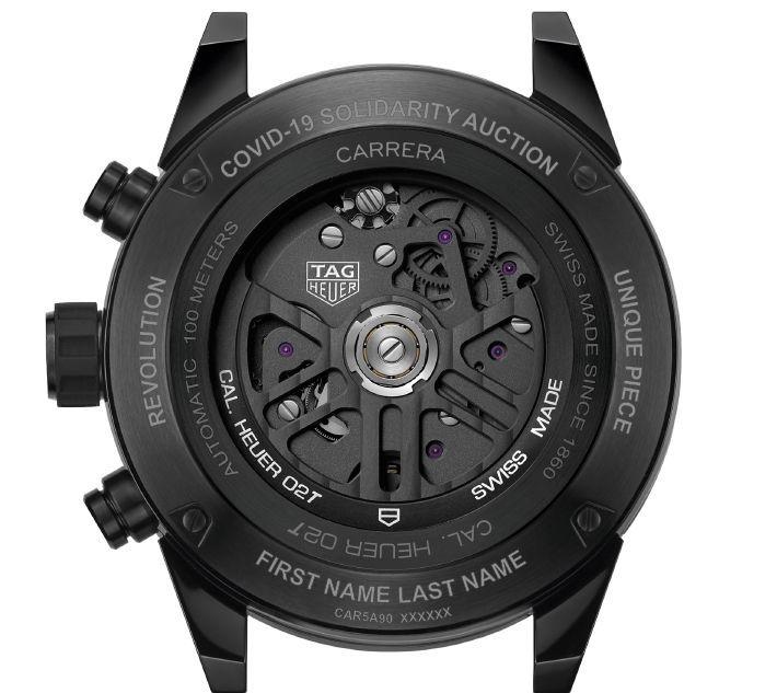 TAG Heuer Carrera Chronograph Calibre Heuer 02 Tourbillon ODD BALLS Edition