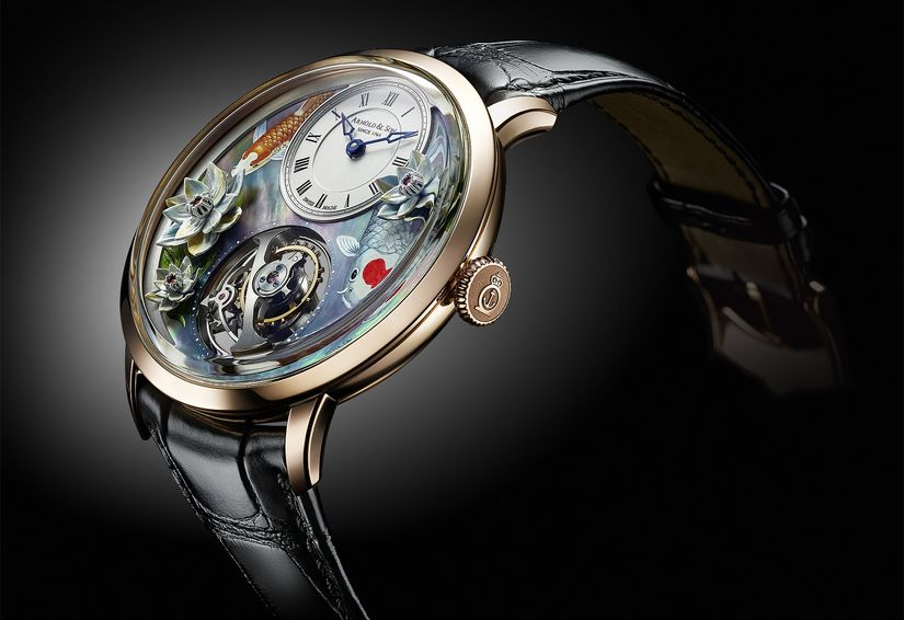 Часы Arnold & Son Ultrathin Tourbillon Koi