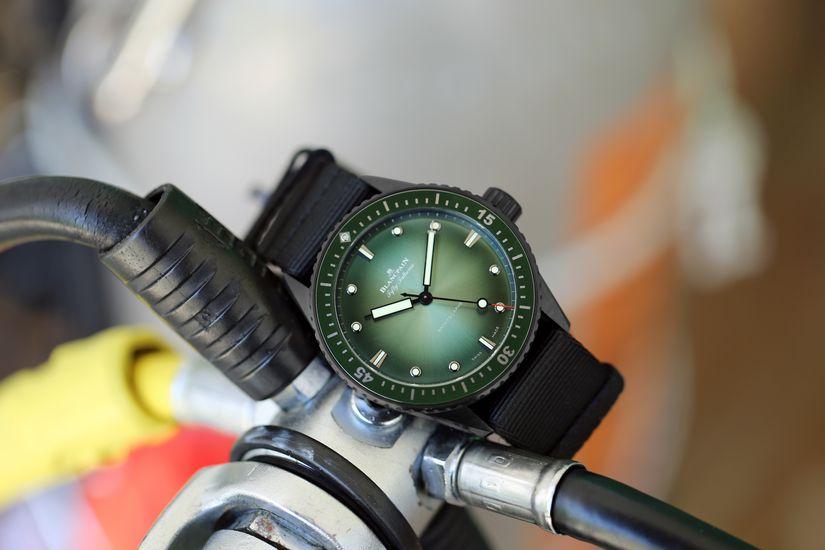 Часы Blancpain Bathyscaphe Mokarran Limited Edition