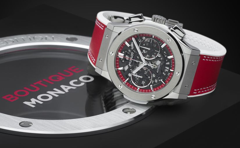 Часы Hublot Classic Fusion Aerofusion Chronograph Special Edition Boutique Monaco
