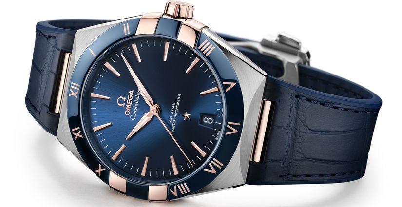 Мужские часы Omega Constellation