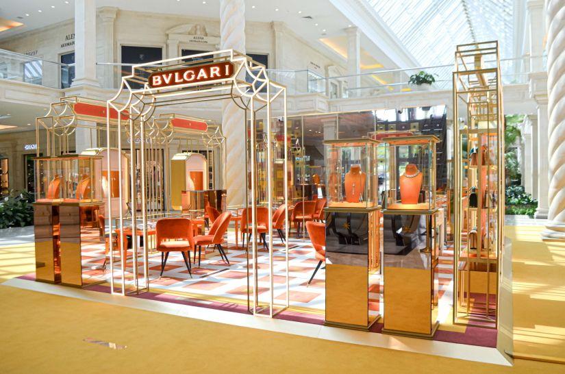 Поп-ап бутик Bvlgari в «Крокус Сити Молле»