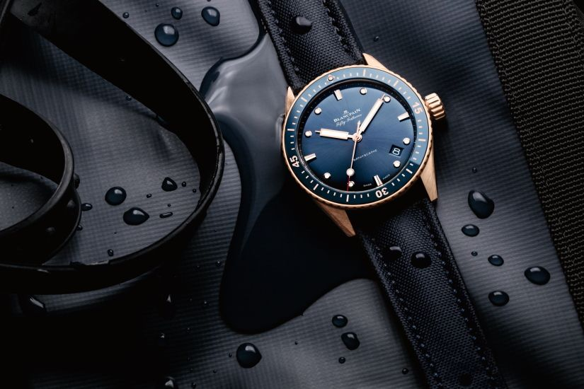Часы Blancpain Fifty Fathoms Bathyscaphe