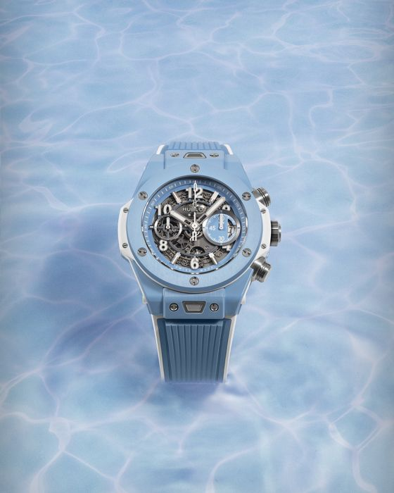 Часы Hublot Big Bang Unico Sky Blue