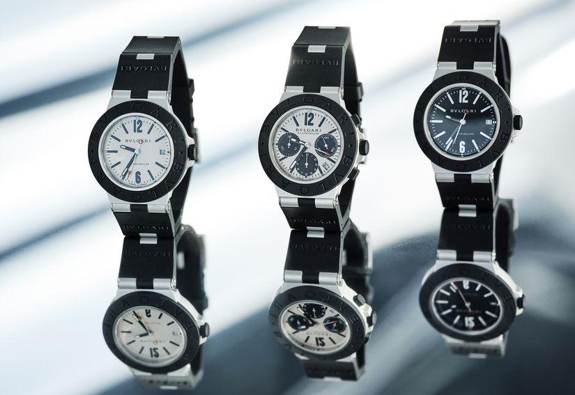 Часы Bvlgari Aluminium