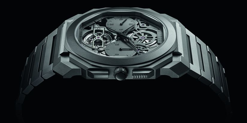 Часы Bvlgari Octo Finissimo Tourbillon Chronograph Skeleton Automatic