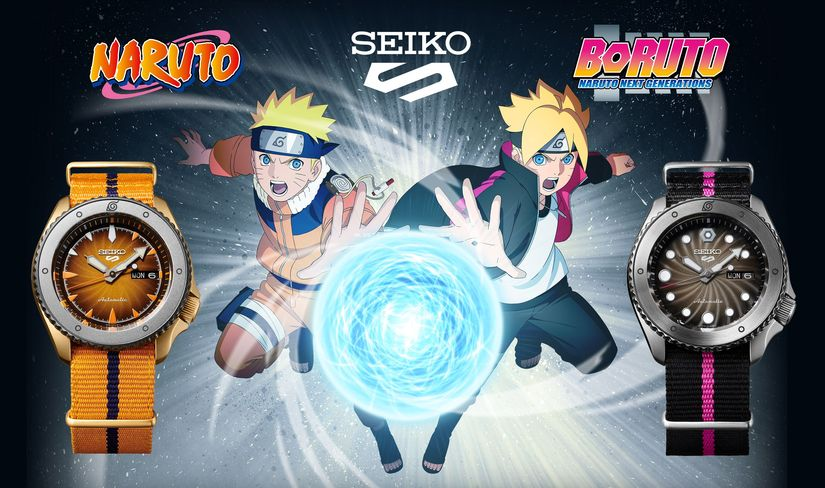 Часы Seiko 5 Sports Naruto Boruto Limited Edition