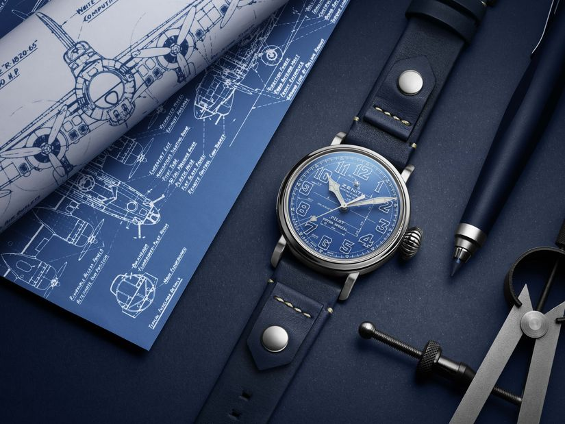 Часы Zenith Pilot Type 20 Blueprint