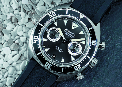 Часы Eterna Super KonTiki Chronograph