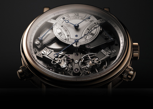 Breguet 7077 La Tradition Independent Chronograph: Хронограф на взводе