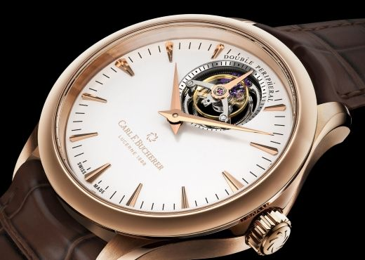 Часовое искусство. Carl F. Bucherer Manero Tourbillon Double Peripheral