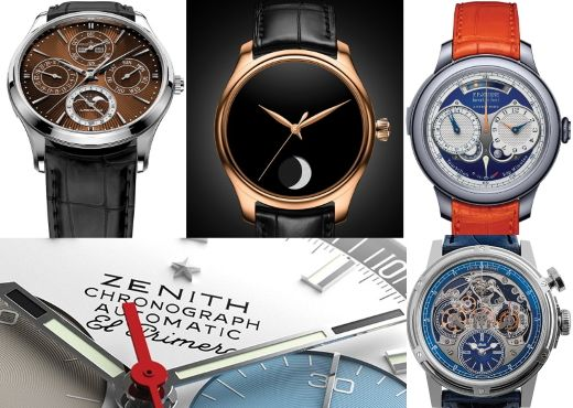 ONLY WATCH-2019. Jaeger-LeCoultre, Zenith, Louis Moinet, F.P.Journe и H. Moser & Cie