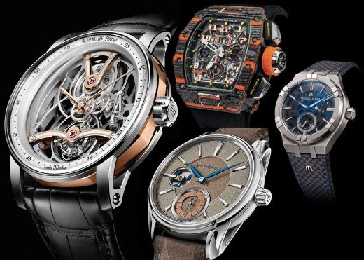 ONLY WATCH-2019. Audemars Piguet, Richard Mille, Maurice Lacroix, Jacob&Co и Gronefeld