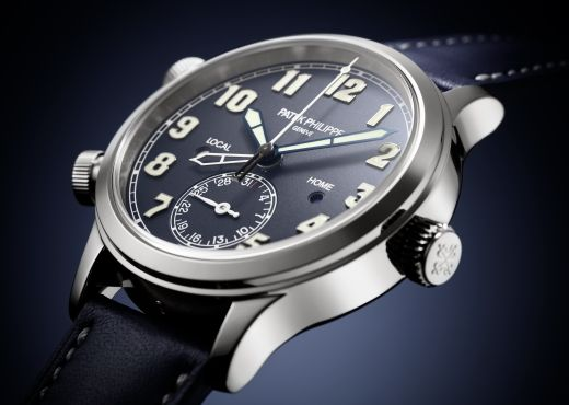 Новые Calatrava Pilot Travel Time от Patek Philippe
