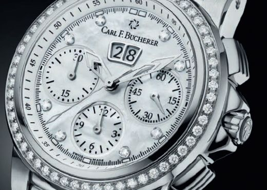 Carl F. Bucherer. Хронографы для прекрасной половины