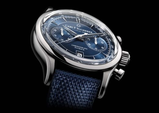 Синие версии Manero Flyback от Carl F. Bucherer