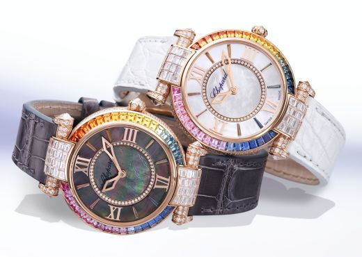Все цвета радуги в Chopard Imperiale Joaillerie Rainbow