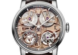 Часы-скелетон Arnold & Son Tourbillon Chronometer No. 36